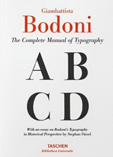 Bodoni. Manual of Typography
